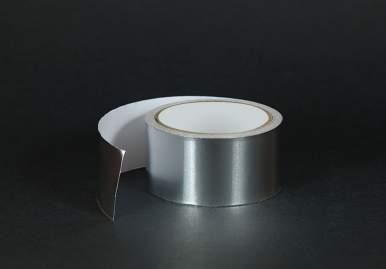 Алюминиевый скотч для вентиляции